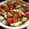 Thumbnail image for Watermelon and Tomato Salad with Herbs and Cheese
