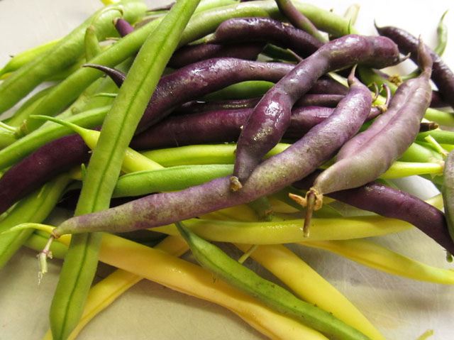 mixed string beans