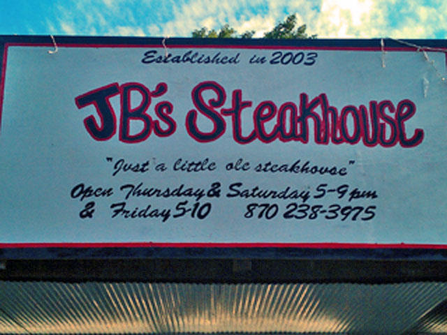 jb's steakhouse